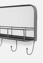 Sixth Floor - Iron hook mirror