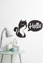 Sixth Floor - Hello catty wall decal