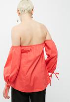 dailyfriday - Sweetheart off shoulder top