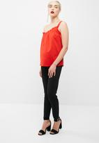 dailyfriday - One shoulder poplin blouse