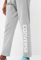 Converse - Wordmark tapered pants