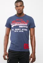Superdry. - Shirt shop fade tee