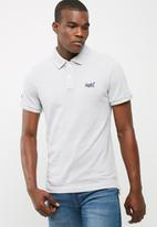 Superdry. - Classic fit pique polo