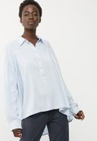 dailyfriday - Soft gathered shirt