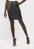 dailyfriday - PU mini skirt