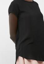 dailyfriday - Open back shell top