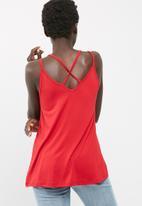 dailyfriday - Knit cross back cami