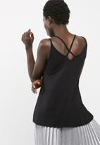 dailyfriday - Knit cross back cami