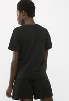 dailyfriday - Lace up front tee