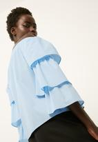 dailyfriday - Off the shoulder poplin blouse