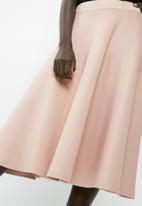dailyfriday - Full midi scuba skirt