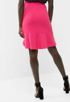 dailyfriday - Asymmetrical knit skirt