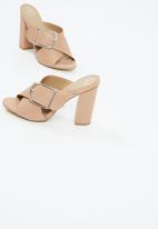 Missguided - Buckle mule