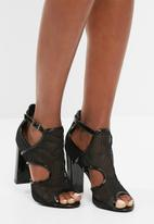 Missguided - Mesh block heel