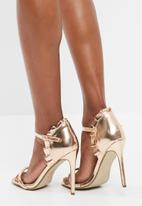 Missguided - Ruffled strappy sandal