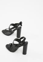 Missguided - Side bow block heel