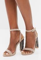 Missguided - Beaded block heel