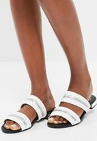 Missguided - Zip trim sandal