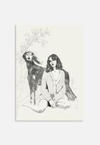 Jenny Liz Rome - A girl and a dog