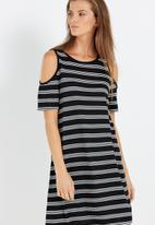 Cotton On - Leo cold shoulder dress