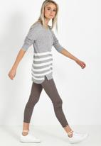 a7bc5473f Archy pullover - slate twist   white stripe Cotton On Knitwear ...
