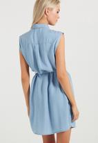 Cotton On - Woven alexis short sleeve shirt dress