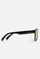 Lundun - Mirror lens sunglasses - black