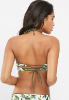 Bacon Bikinis - Fiji reversible bandeau bikini top