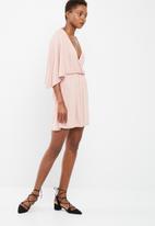 dailyfriday - Kimono sleeve short dress