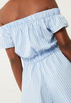 dailyfriday - Off shoulder playsuit