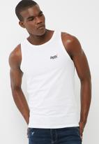 Superdry. - Orange label vintage EMN vest