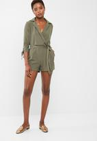 dailyfriday - Formal 3/4 sleeve playsuit
