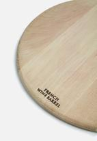 Benguela - Oak round board
