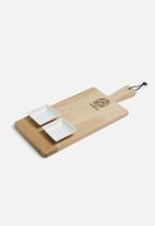 Benguela - Spade tapas board