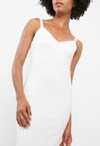 dailyfriday - Midi double strap bodycon dress