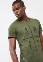 S.P.C.C. - Spcc logo tee