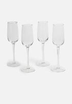 Jamie Oliver - Vintage champagne glasses set of 4