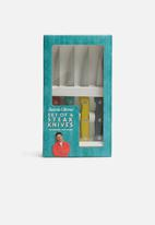 Jamie Oliver - 4 piece coloured steak knife set