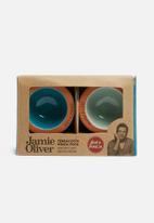 Jamie Oliver - Terracotta pinch pots set of 2