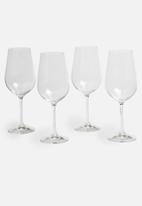 Bohemia Crystal - 350ml wine glass set of 4