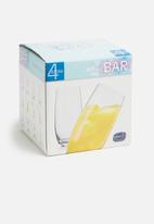 Bohemia Crystal - 470ml long drink tumbler set of 4