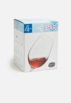 Bohemia Crystal - 550ml wine glass set of 4