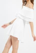 Missguided - Ruffle layer bardot swing dress