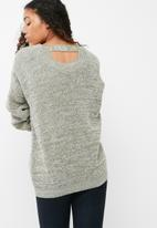 dailyfriday - Scooped back knit