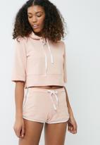 dailyfriday - Short sleeve hoodie