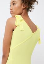 dailyfriday - Tie shoulder bodysuit