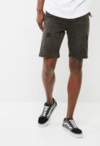 basicthread - Slim denim shorts