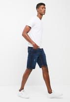 basicthread - Slim denim shorts