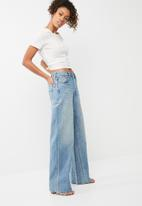 Levi's® - Altered wide leg jeans