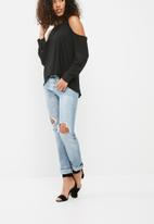 dailyfriday - Cut away blouse